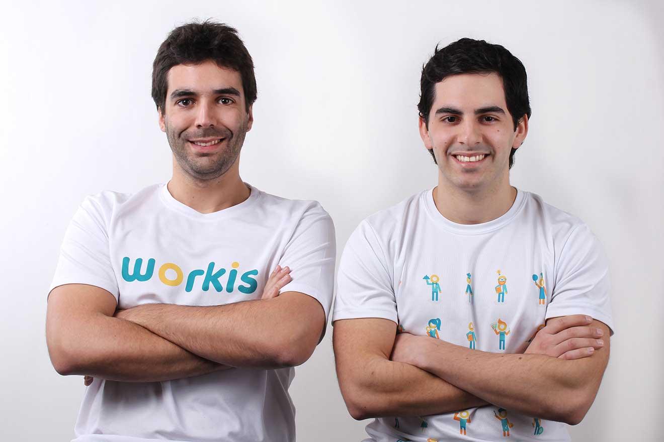 Cristian Godoy y Felipe Hargous, fundadores / Fotografía: Workis.cl
