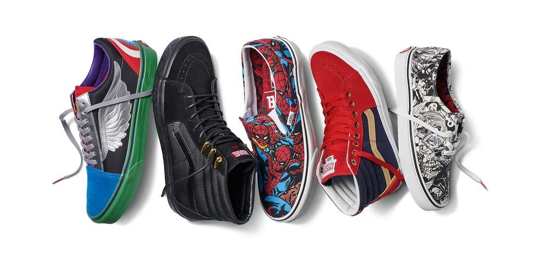 655e5d6b668 ... Marvel estará disponible en tiendas Vans (calzado