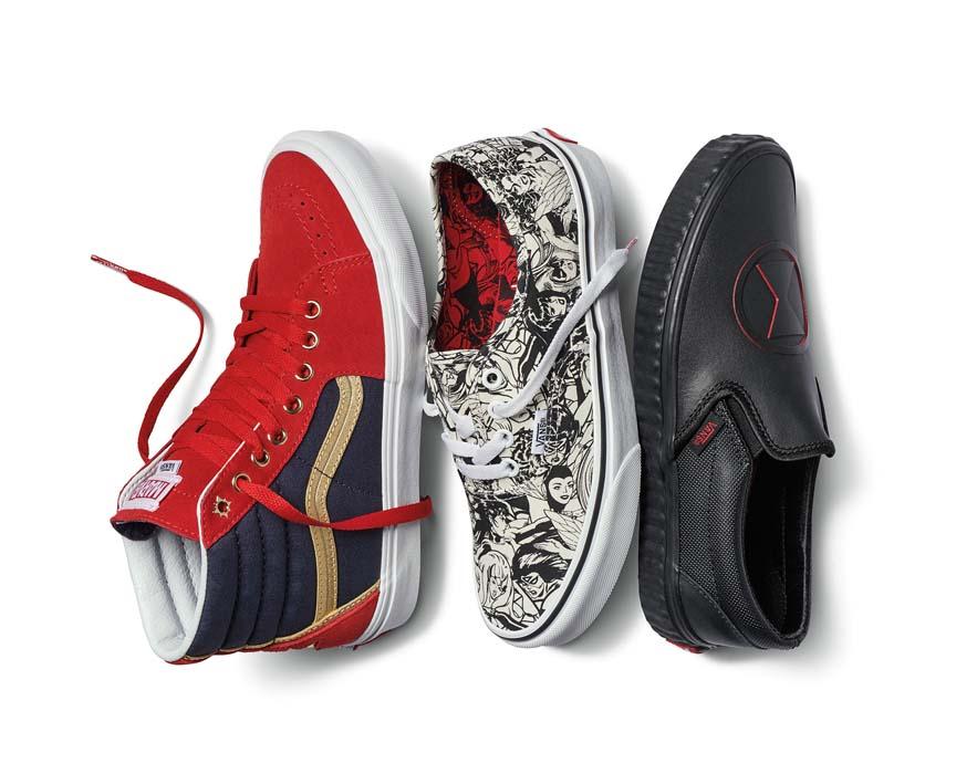 9d7b3086503 ... Marvel estará disponible en tiendas Vans (calzado
