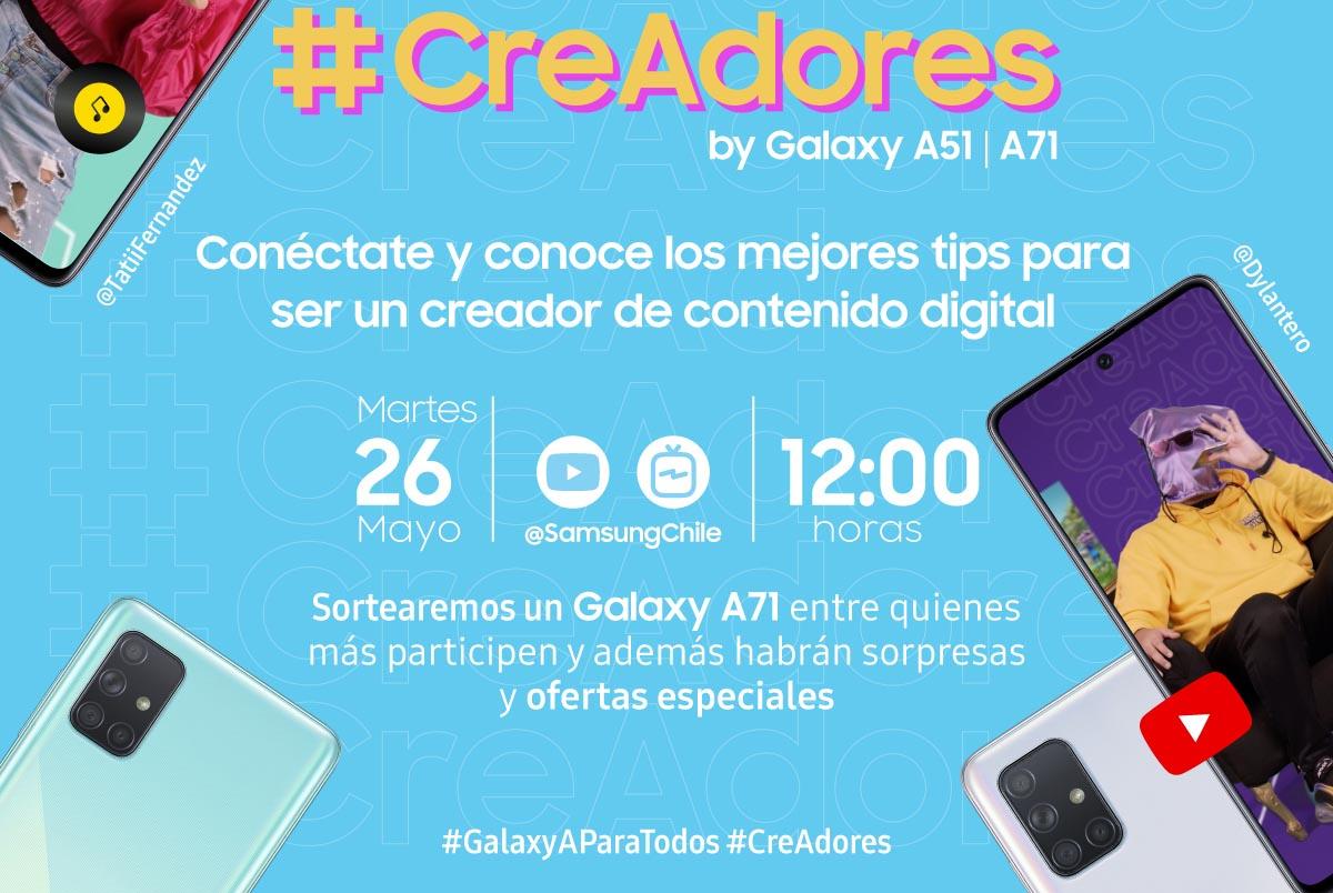 evento lanzamiento serie A Samsung 2020